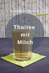 Thaitee mit Milch